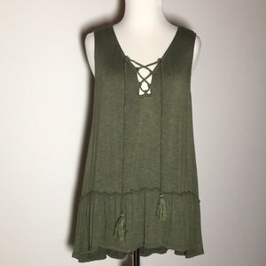 Max Studio Sleeveless Tank Top, Size S, Like New